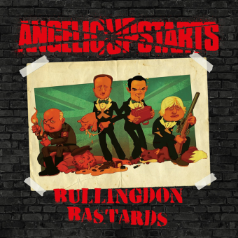"Angelic Upstarts ""Bullingdon Bastards"" LP (black)"