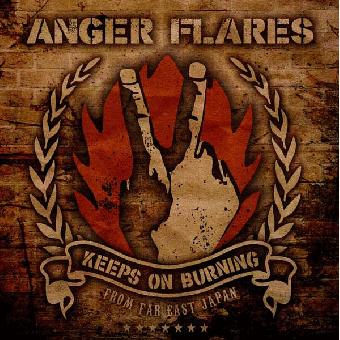 """Anger Flares """"Keeps on Burning"""" LP"""