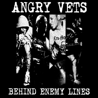 "Angry Vets ""Behind Enemy Lines"" LP (lim. 200, clear/black)"
