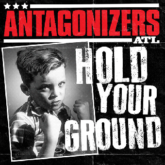 "Antagonizers ATL ""Hold your ground""  EP 7"" (lim. 200, red splatter)"