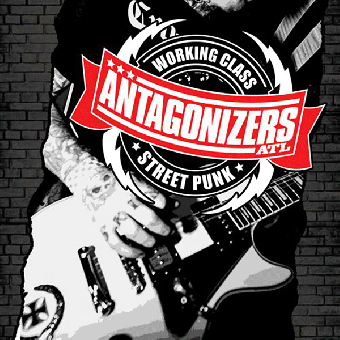 "Antagonizers ATL ""Working Class Street Punk"" LP (lim. 300, black / red) + MP3"