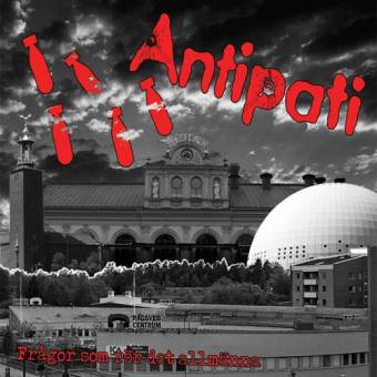 """Antipati """"Fragor som rör det allmänna"""" CD (DigiPac)"""