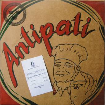 """Antipati """"Quattro Stagioni"""" EP 7"""" (lim. 500, gatefold)"""