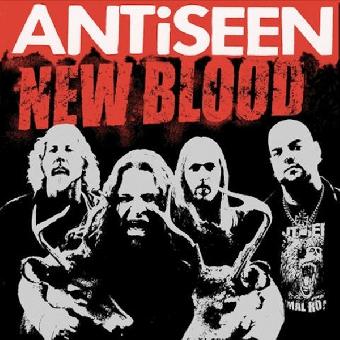 "Antiseen ""New Blood"" LP (lim. 500, orange)"