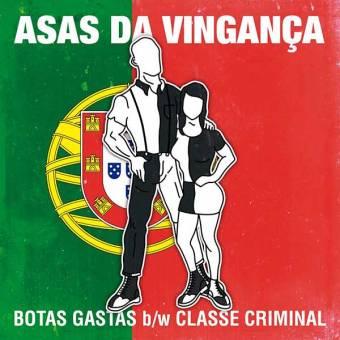 "Asas Da Vinganca ""Botas gastas"" EP 7"" (lim. 200, black)"