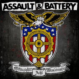 "split Concrete / Assault & Battery ""Pure Grit"" EP 7"" (lim. clear + download)"