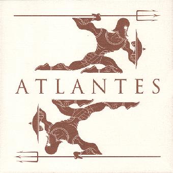"Atlantes ""same"" EP 7"" (lim. 111, black) (white cover, 2nd press)"