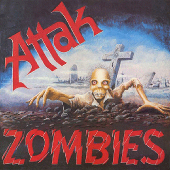 "Attak ""Zombies"" LP (lim. 500, black)"