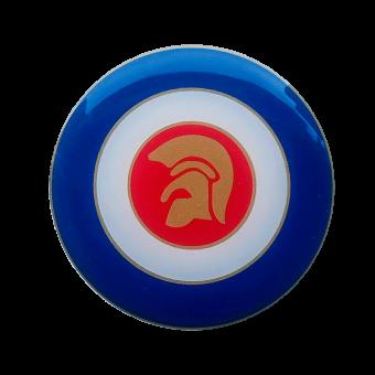 Trojan Mod Target - 3D sticker