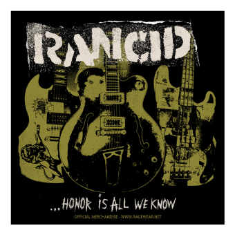 "Rancid ""Honor is All we know"" Aufkleber / Sticker 040"