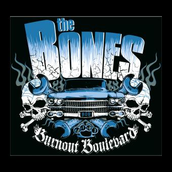 "The Bones ""Burnout Boulevard"" Sticker"