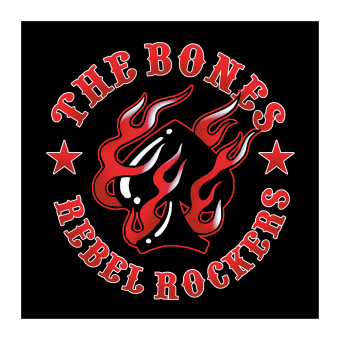 "The Bones ""Rebel Rockers"" Sticker"