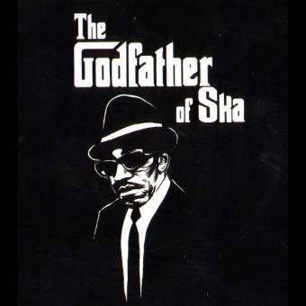 "Laurel Aitken ""Godfather of Ska"" Aufkleber / sticker 092"
