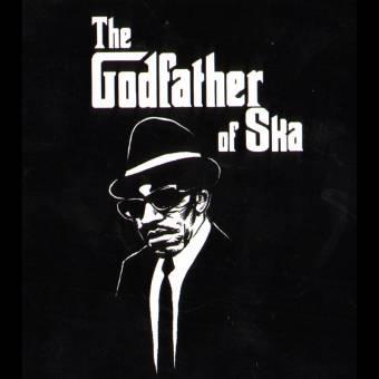 "Laurel Aitken ""Godfather of Ska"" Aufkleber / sticker 092"