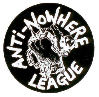 Anti Nowhere League - Aufkleber/ sticker
