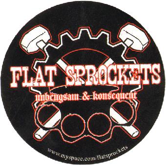 Flat Sprockets Aufkleber 035