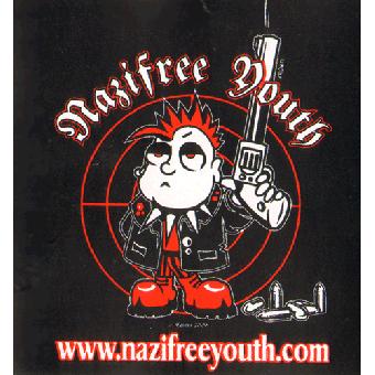 Nazifree Youth Aufkleber 076
