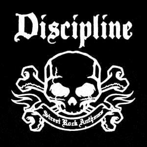 """Discipline """"Street Rock""""- Stoffaufnäher (Druck)"""