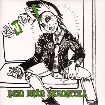 """Avga! """"Hem fran skanstull"""" EP 7""""+ MP3 (lim. 100, green)"""