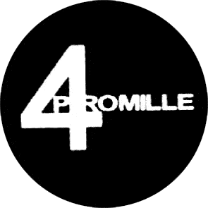 4 Promille (2) (Logo) - Button (2,5 cm) 3 (Neu)
