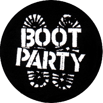 Boot Party - Button (2,5 cm) 19