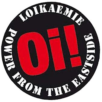 """Loikaemie """"Oi!"""" - Button (2,5 cm) 24 Neu"""