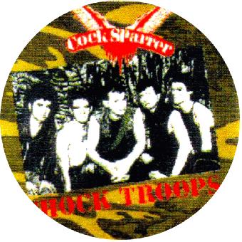 "Cock Sparrer ""Band"" (1) - Button (2,5 cm) 33"