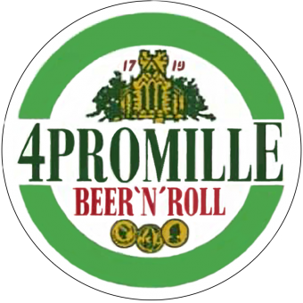 4 Promille (Beer`nRoll) - Button (2,5 cm) 44