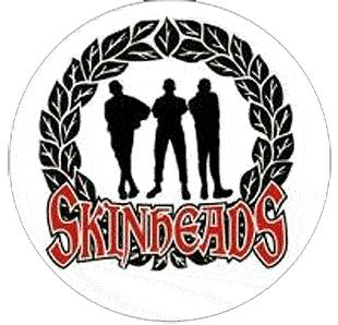 Skinheads - Button (2,5 cm) 061 (NEU)
