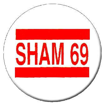 Sham 69 - Button (2,5 cm) 92