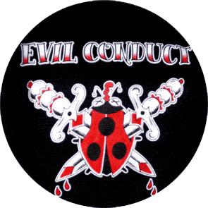 Evil Conduct - Button (2,5 cm) 98 (Neu)