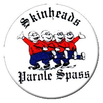 Parole Spaß - Button (2,5 cm) 100