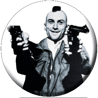 Taxi Driver - Button (2,5 cm) 106