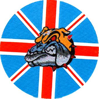 Bulldog UK- Button (2,5 cm) 107