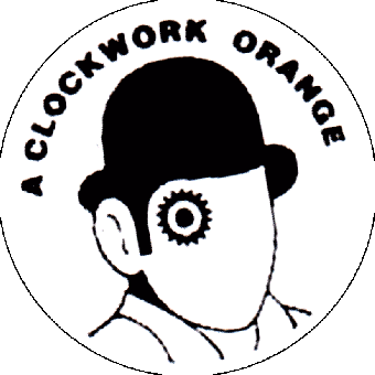 Clockwork Orange (6) - Button (2,5 cm) 126