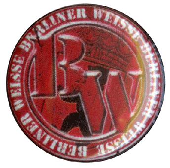 Berliner Weisse - Button (2,5 cm) 133NEU