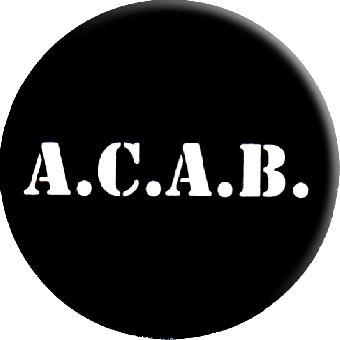 A.C.A.B. - Button (2,5 cm) 146