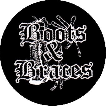 Boots + Braces (2) - Button (2,5 cm) 152