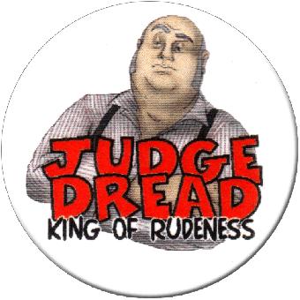 Judge Dread (2) - Button (2,5 cm) 160