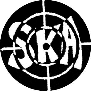 Ska Target - Button (2,5 cm) 191 (Neu)