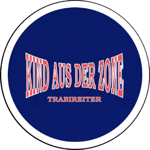 Trabireiter - Kind aus der Zone - Button (2,5 cm) 194 (Neu)