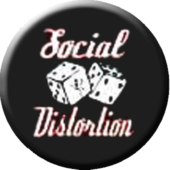 Social Distortion (3) - Button (2,5 cm) 212