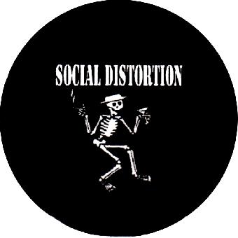 Social Distortion (2) - Button (2,5 cm) 223
