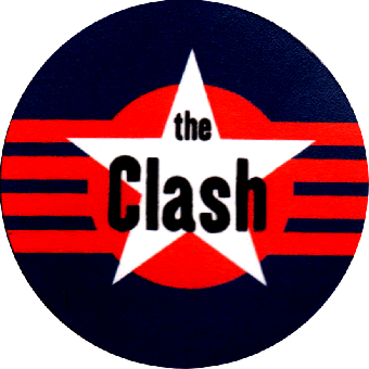 Clash,The - Button (2,5 cm) 235