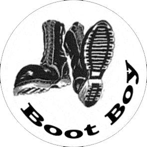 Bootboy - Button (2,5 cm) 250 (Neu)