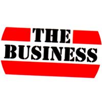 The Business weiss/rot/schwarz - Button (2,5 cm) 278
