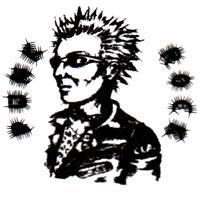 Punkrock (2)  - Button (2,5 cm) 286