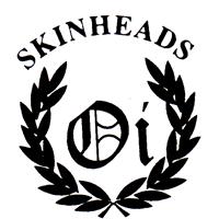 Skinheads Oi!  - Button (2,5 cm) 293