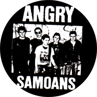 Angry Samoans  - Button (2,5 cm) 294