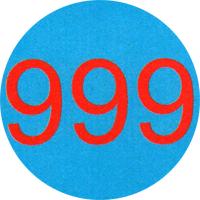 999 - Button (2,5 cm) 317